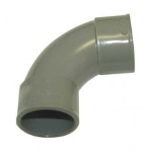 Polypipe Solvent Weld Waste MUPVC Swept Bend 32mm x 92.5 Degrees Solvent Grey
