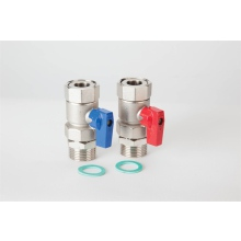 "Polypipe Stainless Steel 1"" Isolation Valves (pair)"