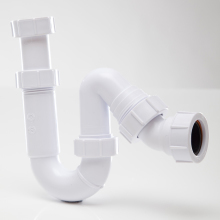 Polypipe Tubular PQS Swivel Trap 75mm White