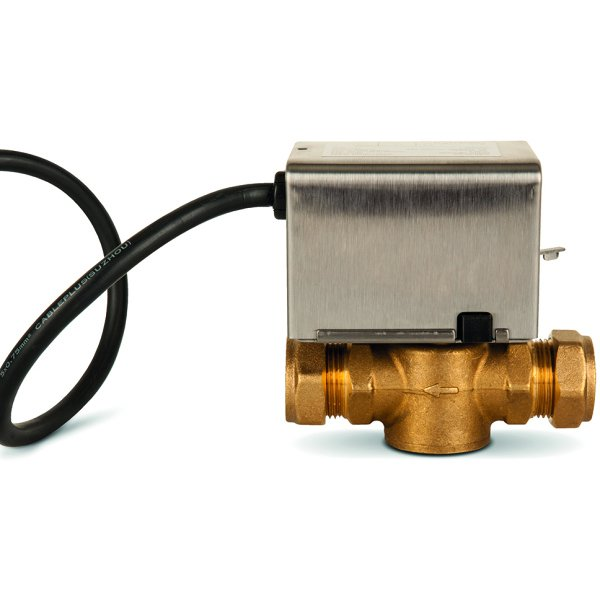 Polypipe UFH 2 Port Zone Valve