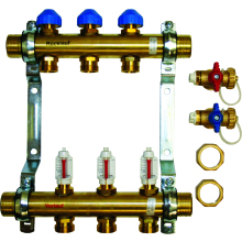 "Polypipe U/Floor Heating 1""DOM 4PT Manifold"
