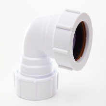 Polypipe Compression Waste Bend 32mm x 90 Degrees White