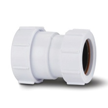 Polypipe Waste Compression Reducer 40mm x 32mm White