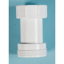 Polypipe Waste to Trap Connector 32mm x 40mm White