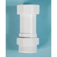 Polypipe Waste Trap Connector Equal White
