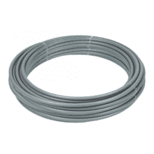 PolyPlumb 15mm x 120M Barrier Polybutylene Pipe Coil Grey