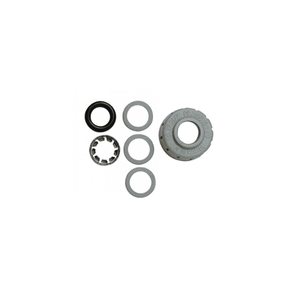 PolyPlumb 28mm Spare Component Pack Grey