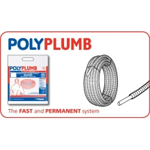 Polyplumb Barrier Pipe-in-Pipe Coil 15mm x 50m