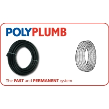 Polypipe 22mm x 25M Conduit Pipe Coil Black