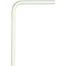 Polyplumb Radiator Elbow 15mm White