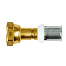 PolySure 15mm x 3/4inch Straight Tap Connector