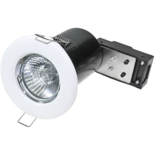 Powermaster 50W Fire Rated Downlight White
