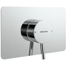 Prism Concealed Sequential Shower Valve Only Chrome