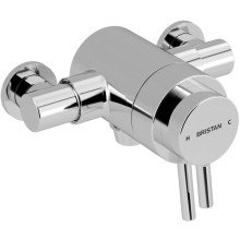 Prism Exposed Concentric Shower Valve Only Chrome