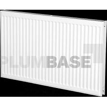 Purmo Compact Radiator Double Panel Single Convector 600mm x 1000mm White