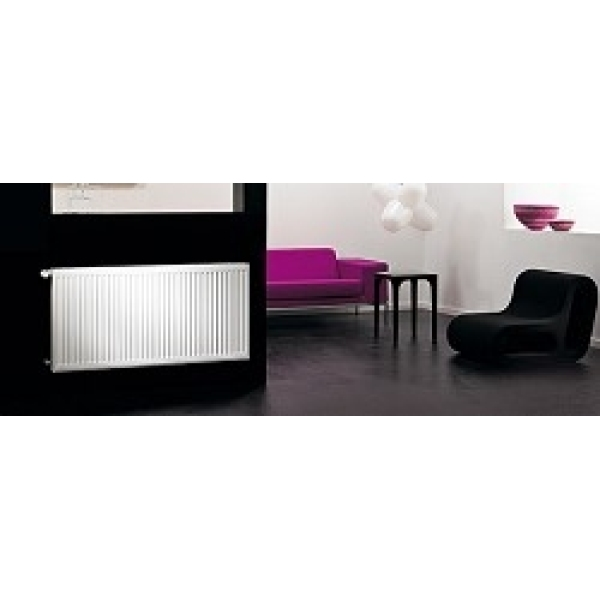 Purmo Compact Radiator Single Panel Single Convector 450mm x 1600mm White