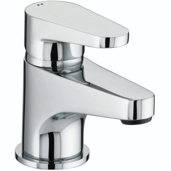 Quest Basin Mixer With Clicker Waste Chrome
