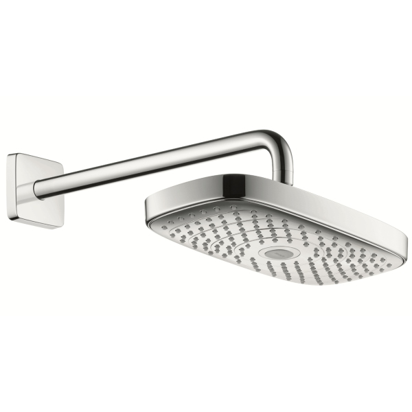 Raindance Select E300 2jet Overhead - Wall Mounted Chrome