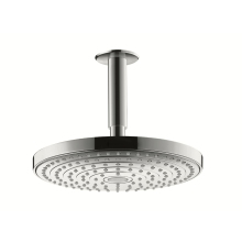 Raindance Select S240 2jet Overhead - Ceiling Mounted Chrome