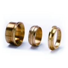 Reducing Set 35mm X 15mm Brass