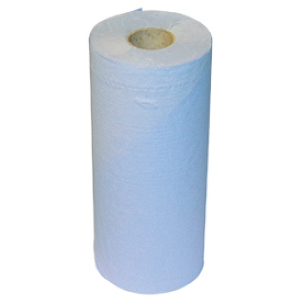 Regin Blue Paper Towel Roll 3 Ply 100 Sheet