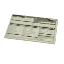 Regin Commercial Gas Test Record Pad