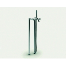 Roca Bath Shower Mixer & Columns Chrome