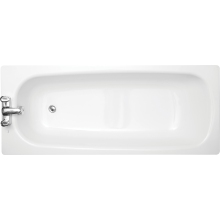 Roca Contesa Eco Steel Bath 1700 2 Tapholes