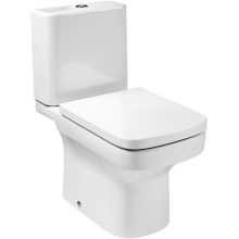 Roca Dama-N Close-Coupled WC Pan with Horizontal Outlet