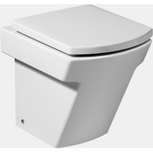 Roca Hall Back To the Wall Toilet Pan White