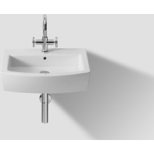 Roca Hall Basin 1 Tap Hole  White