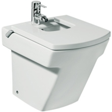 ROCA HALL Floor Standing BIDET 1 Tap Hole White