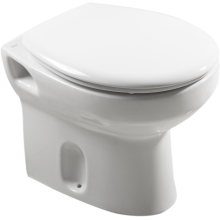 Roca Laura Back To Wall WC Pan with Dual Outlet