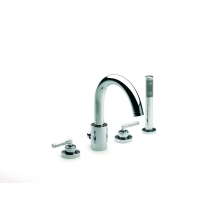 Roca Loft Elite 4 Hole Bath Shower Mixer Chrome