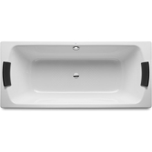 Roca Lun Plus 1700 Anti-Slip Steel Bath