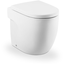 Roca Meridian Back To The Wall WC Pan - White