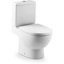 Roca Meridian Close Coupled WC Pan - White