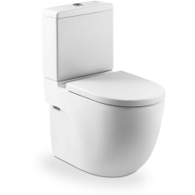 Roca Meridian Compact Close Coupled WC Pan - White