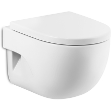 Roca Meridian Compact Wall Hung WC Pan - White