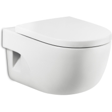Roca Meridian Wall Hung WC Pan - White