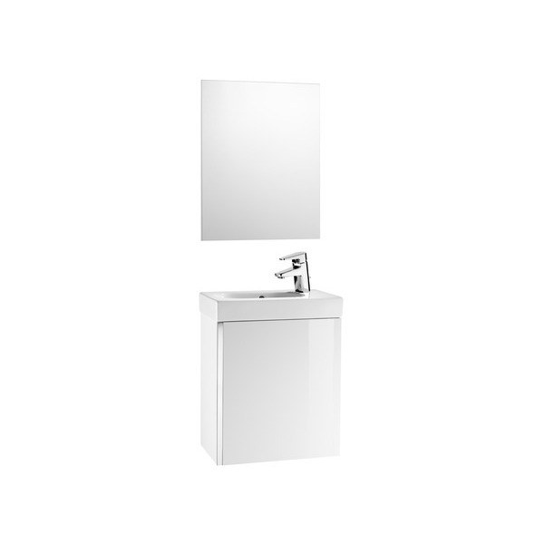 Roca Mini Pack Basin, Base Unit & Mirror