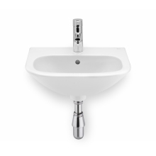 Roca Nexo Basin 1 Tap Hole White
