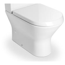 Roca Nexo Compact Close Coupled Toilet Pan - White