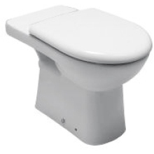 Roca Paloma Close Coupled Comfort Height Pan - White