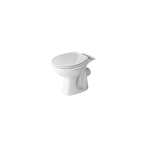 Roca Polo Close Coupled Open Rim WC Pan