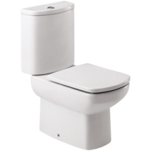Roca Senso Close Coupled Toilet WC Pan - White