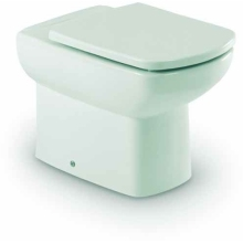 Roca Senso Compact Back To Wall WC Pan - White