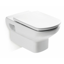 Roca Senso Wall Hung WC Pan - White