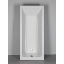 Roca The Gap Bath 1700 x 750mm White With Legs