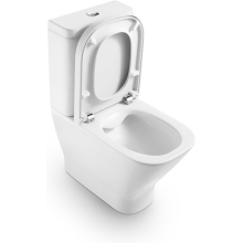 Roca The Gap Close Coupled WC with Dual Outlet